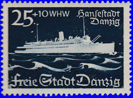 """Dantzig 1938. ~ YT 249* - Cargo """"Hasestad Dantzig"""" - Danzig"""