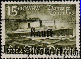 "Dantzig 1938. ~ YT 248 - Paquebot ""Colombus"" - Danzig"
