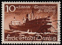 "Dantzig 1938. ~ YT 247 - Dragueur ""Fu-shing"" - Danzig"