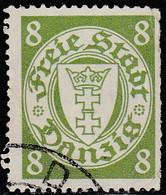 Dantzig 1938. ~ YT 240 - 8 P. Armoiries - Danzig