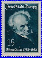 Dantzig 1935. ~ YT 235* - 15 P. Shopenhauer - Danzig