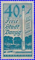 Dantzig 1935. ~ YT 220* - Brosen. Monument Aux Morts - Danzig