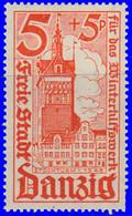 Dantzig 1935. ~ YT 215 à 17* - Secours D'hiver - Danzig