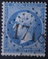 22 Obl GC 1718 Les Grès-sous-Troyes (9 Aube ) Ind 11 ; Frappe Nette & TB Centrée - 1849-1876: Classic Period