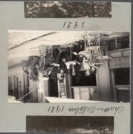 HOTEL DU CHEVAL BLANC 1921 Photo 6x10cm Collée Sur Carton - Le Luc Au Verso - Places