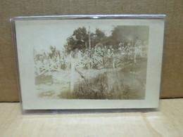PIERRE PERCEE (54) Guerre 1914-18 Carte Photo Cimetière Militaire La Chapelotte - Altri Comuni