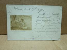 ECUEILLE (36) Carte Photo Source De La Haute Roche - Altri Comuni