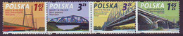 POLAND 4373-4376,unused,bridges - Ongebruikt
