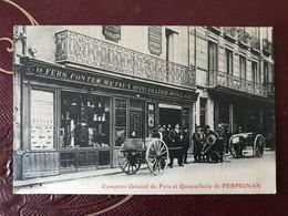 Carte Magasin Comptoir Général De Fers Et Quincaillerie De Perpignan - Perpignan
