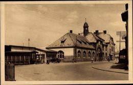 CPA Hagondange Moselle, La Gare - Autres Communes