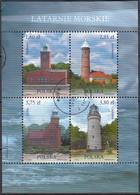POLAND 4609-4612,used,lighthouses - Gebruikt