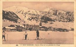 05 Mont Genévre Vue Générale Sports D'hiver Ski - Andere Gemeenten