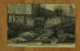 Carte Postale Fau Email Enclave De Llivia - Altri Comuni