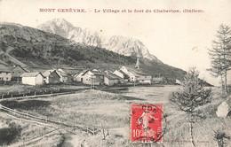 05 Mont Genévre Et Le Chaberton Vue Générale - Andere Gemeenten