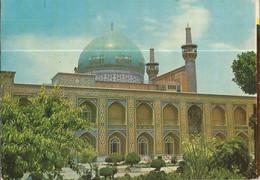 CPSM ,Iran - Dome And Minaret Of Gohar Shad Mosque - Mashhad ,Ed. H.P. ,Avec Timbre - Iran