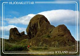 11510 - Island - Hljodaklettar , Echo Felsen , Jökulsa Schlucht - Nicht Gelaufen - IJsland