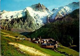 11567 - Frankreich - La Grave En Oisans , Le Chazelet Et La Meije , En Dauphine - Gelaufen 1970 - Andere Gemeenten