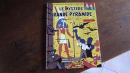 BLAKE ET MORTIMER PETIT FORMAT LE MYSTERE DE LA GRANDE PYRAMIDE  PUBLICITAIRE ESSO  JACOBS - Blake Et Mortimer