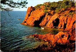 11615 - Frankreich - Roches Rouges , Cote D' Azur , Sur La Corniche D' Or - Gelaufen 1966 - Provence-Alpes-Côte D'Azur