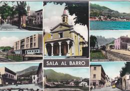 SALA AL BARRO (LECC0) - CARTOLINA - VIAGGIATA PER VALNEGRA (BG) FRANCOBOLLO ASPORTATO - Lecco