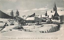 05  Briançon Mont Genévre Concours International De Ski Vue Générale - Andere Gemeenten