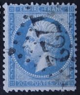 22 Obl GC 1722 Grignols (32 Gironde ) Ind 6 ; Frappe Nette & Centrée - 1849-1876: Période Classique