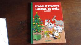 EO SYLVAIN ET SYLVETTE  L ALBUM DE NOEL   PESCH  LE LOMBARD - Sylvain Et Sylvette