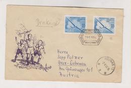 POLAND POZNAN 1956 Nice Cover To Austria - Brieven En Documenten
