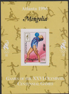 Olympics 1996 - Gymnastics - Basketball - Fencing - MONGOLIA - S/S Imp. MNH - Summer 1996: Atlanta