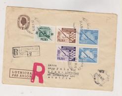 POLAND POZNAN 1956 Nice Registered Cover To Austria - Brieven En Documenten