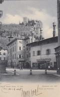 ARCO-TRENTO-PIAZZA COL MUNICIPIO-CON DROGHERIA- CARTOLINA NON VIAGGIATA DATATA 10-4-1906 - Trento