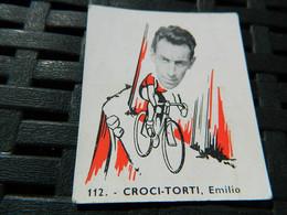 CYCLISME:CHROMO DES ANNEES 40/50 GEANTS DE LA ROUTE-DE CROCI-TORTI EMILIO SUISSE  -BELGIAN CHEWING GUM ANTERPEN - Ciclismo