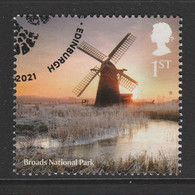 GB 2021 National Parks 1st Multicoloured SW 4326 O Used - Used Stamps