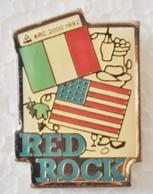 "Pin's J.O D'Albertville ""RED ROCK"" - Arc 2000 1992 - Giochi Olimpici"