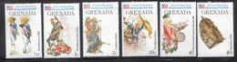 GRENADA Scott # 716//22 MNH - American Revolution - No 50 Cent Value - Grenada (1974-...)