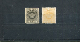 Sao Tome Et Principe 1869-1877 Yt 1 2 * - Sao Tomé Y Príncipe