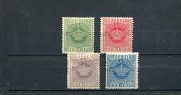 Sao Tome Et Principe 1884-85 Yt 10-14 * - Sao Tomé Y Príncipe