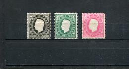Sao Tome Et Principe 1887 Yt 15-17 * - Sao Tomé Y Príncipe