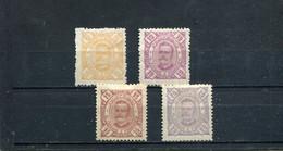 Sao Tome Et Principe 1893-95 Yt 36-39 * - Sao Tomé Y Príncipe