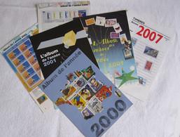 """Album De L'année"""" Les 6"""" (détaché De L'Écho De La Timbrologie) 1999/2000/2001/2002/2004/ 2007 - Otros Libros"""