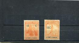 Sao Tome Et Principe 1925 Yt 280 282 * - Sao Tomé Y Príncipe