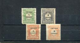 Sao Tome Et Principe 1921 Yt 42-45 * Timbres-taxe - Sao Tomé Y Príncipe