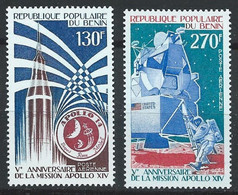 Bénin YT PA 258-259 Neuf Sans Charnière - XX - MNH Espace Space - Benin – Dahomey (1960-...)