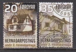 2020 Faroe Islands WWII UK Field Post Office Military Postal History Complete Set Of 2 MNH @ BELOW FACE VALUE - Faroe Islands