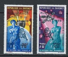 Dahomey YT PA 107-108 Neuf Sans Charnière XX MNH Espace Space - Benin – Dahomey (1960-...)