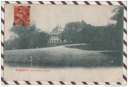 5AH240 Singapore - Governement House - Carte Précurseur  2  SCANS - Singapore