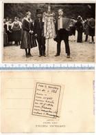 Foto Del 11-5-1930  FIRENZE - Gruppo Folkloristico Di Ballo Di COURMAYEUR In Costume - Firenze (Florence)