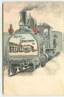 Gruss Aus LUDWIGSHAFEN - TRAIN - Bahnhof - Ludwigshafen