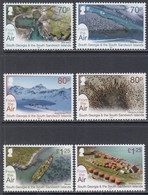 2020 South Georgia From The AIR Penguins Seals Complete Set Of 6  MNH @ BELOW FACE VALUE - Georgia Del Sud
