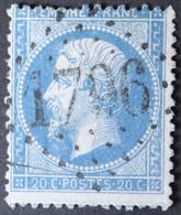 22 Obl GC 1796 Hermonville (49 Marne ) Ind 8 ; Frappe TB Centrée - 1849-1876: Période Classique
